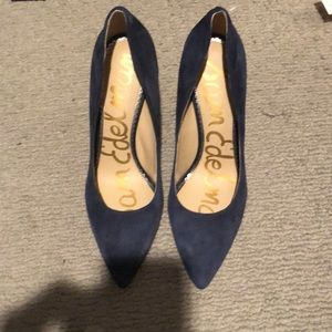 Sam Edelman navy heels
